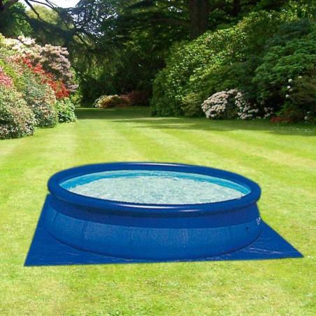 Tapis de sol piscine hors-sol