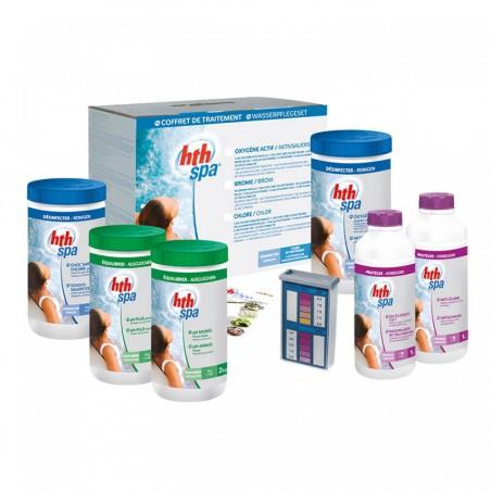 Coffret de traitement HTH Spa