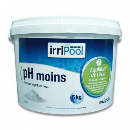 pH moins 5 kg Irripool