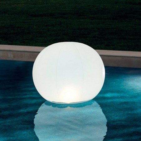 Lampe LED flottante boule Intex