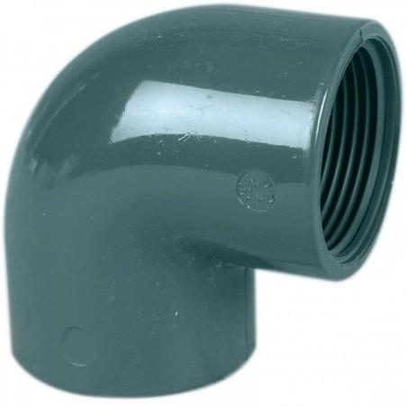 Coude mixte PVC