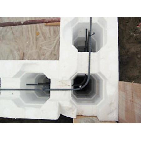 Bloc coffreur IRRIBLOC premium 1,25 m x 0,30 m