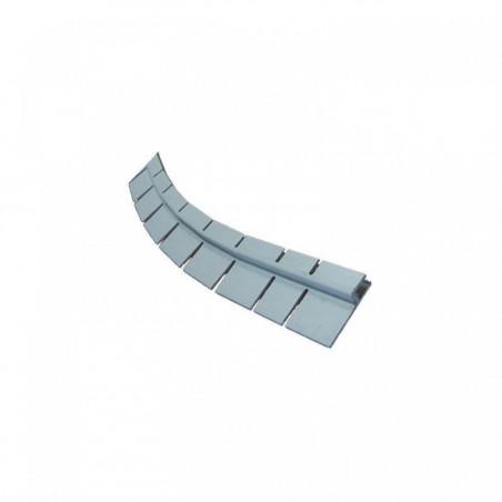 Rail jung PVC horizontal baguette forme libre
