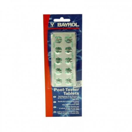 Recharges pour Pooltester électronique Bayrol