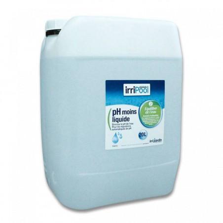 pH moins liquide Irripool