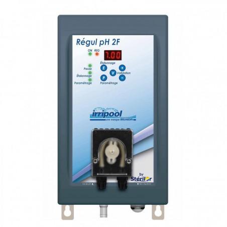 Régulation pH+ ou pH- Irripool
