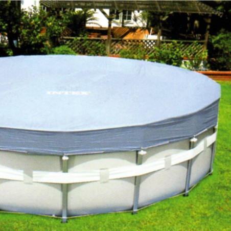 Bâches de protection piscine tubulaire Intex