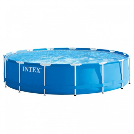 Piscine tubulaire Metal Frame Intex 4,57x1,22 m