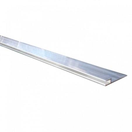 Rail hung alu horizontal
