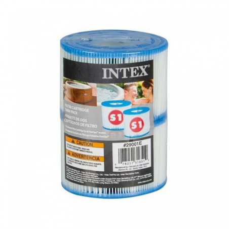Cartouches pour spa gonflable Intex (x2)