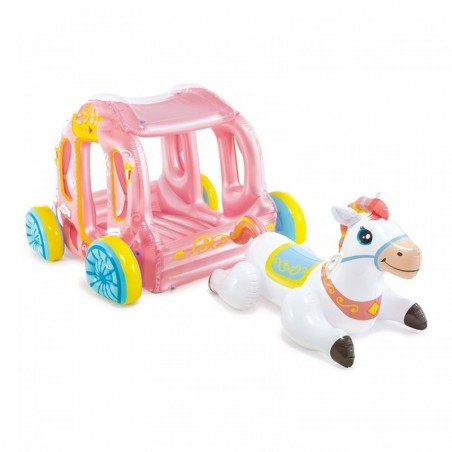 Carrosse de princesse gonflable Intex
